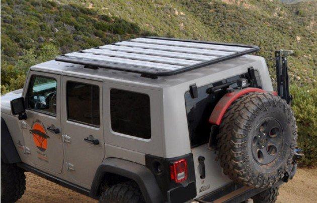 Jeep Jku Roof Rack >> AEV JK Roof Rack - Seven Slot Off Road