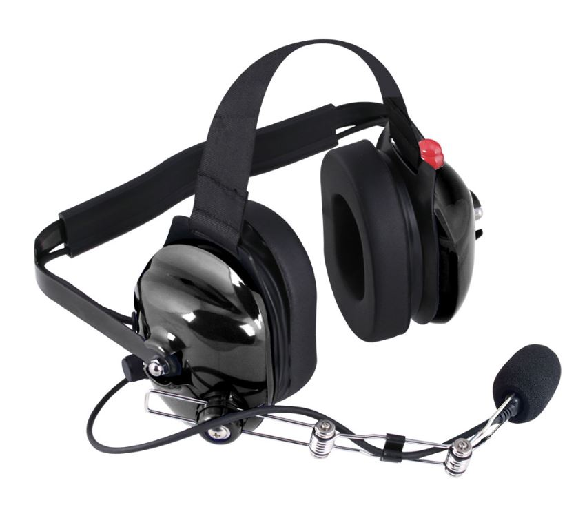 H42 Black 2 Way Radio Headset H42 Blk