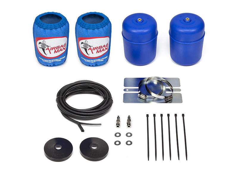 Airbag Man Suspension Helper Kit for Coil Springs - High Pressure JEEP on