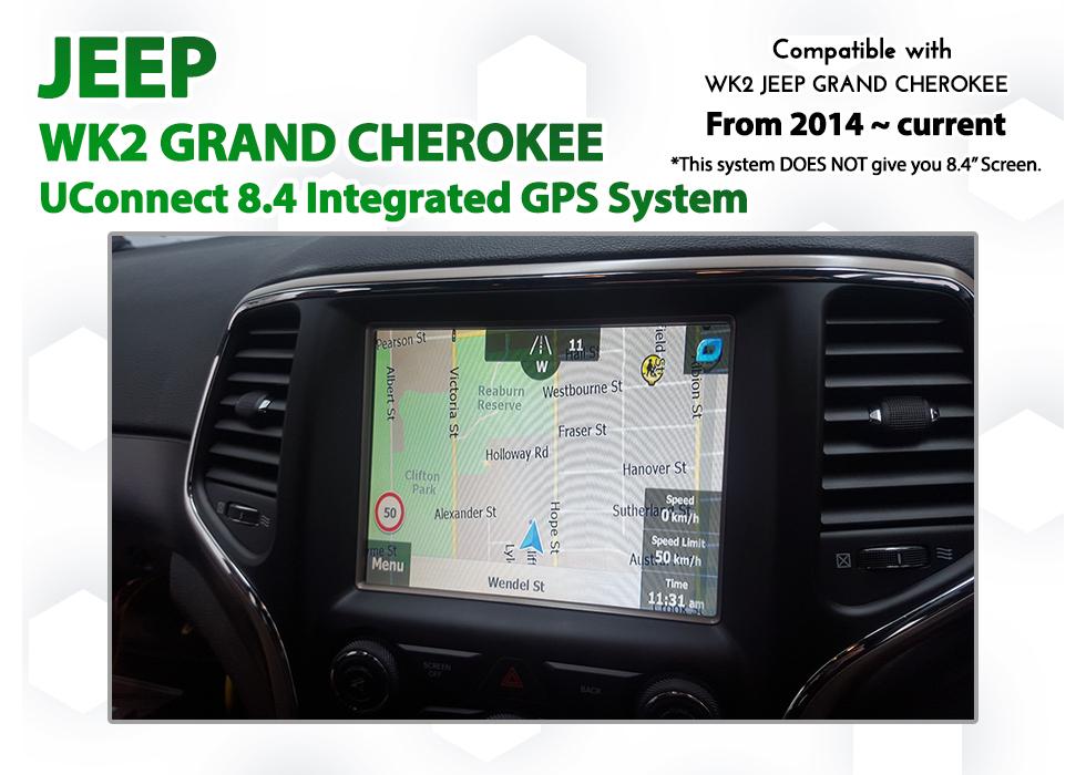 Igo Australia Map 2013.Jeep Wk2 Grand Cherokee Uconnect 8 4 Add On Gps Navigation 2013