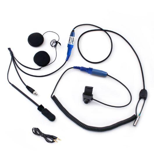 Rugged Radios – Motorcycle Single Kit without Radio – Seven